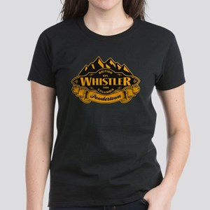 Whistler Mountain Emblem Women's Dark T-Shirt